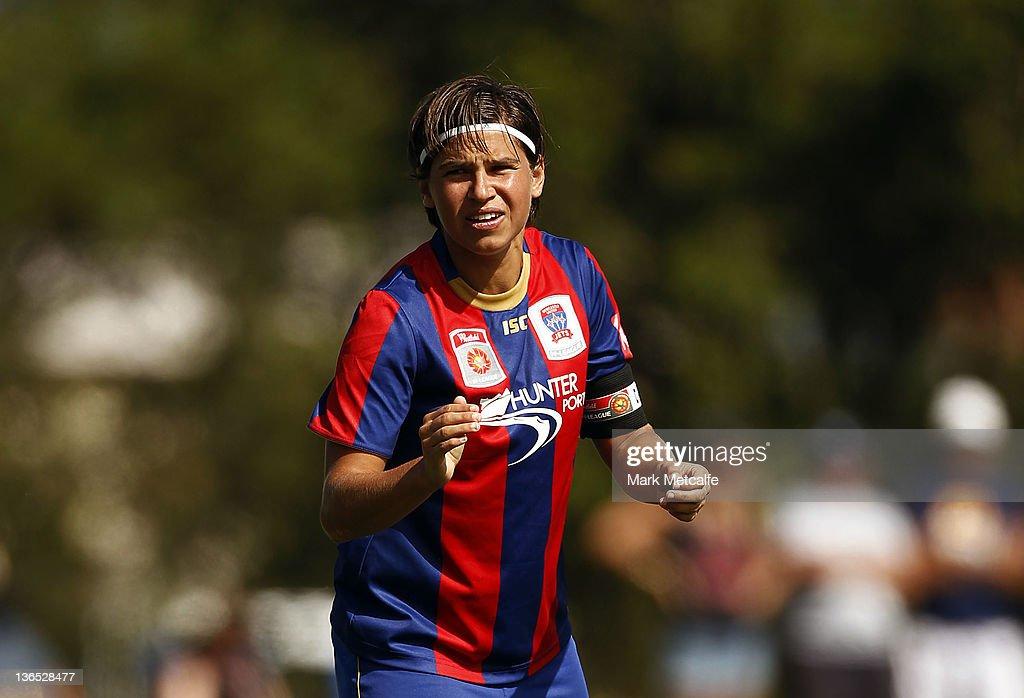 W-League Rd 11 - Newcastle v Brisbane : News Photo
