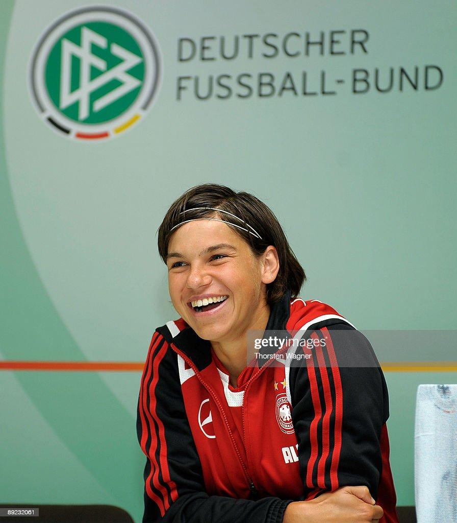 DFB Women National Team Visit School In Sinsheim : News Photo