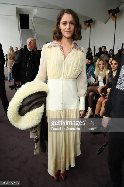 Ariane Labed attends the Chloe show as part of the Paris Fashion Week Womenswear Fall/Winter 2018/2019 on March 1 2018 in Paris France