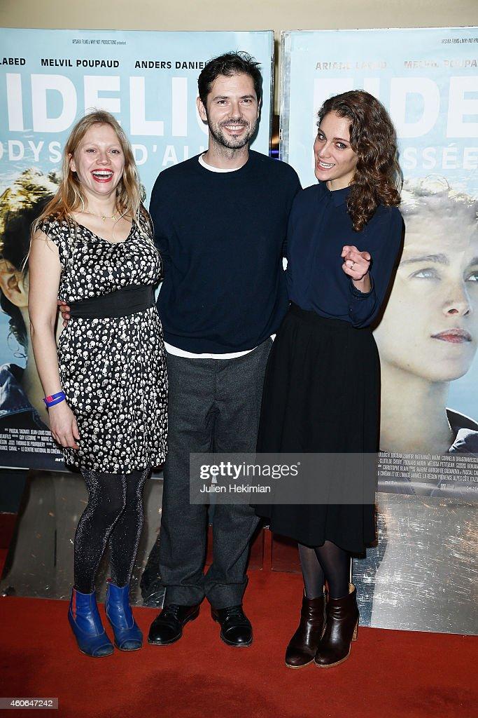 'Fidelio, l'odyssee d'Alice' Paris Premiere At UGC Cine Cite Les Halles