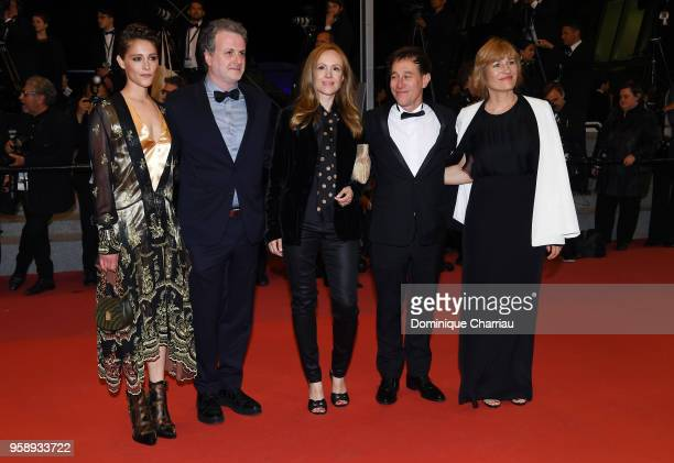Ariane Labed Khalil Joreige Valeska Grisebach Bertand Bonello and Alante Kavaite attend the screening of Under The Silver Lake during the 71st annual...