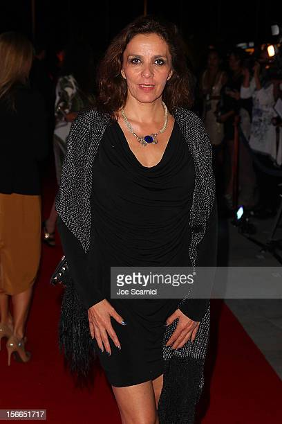 Ariane Pellicer arrives to the Closing Night Gala for the Baja International Film Festival at the Los Cabos Convention Center on November 17 2012 in...