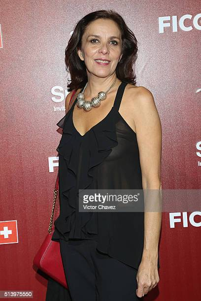 Ariane Pellicer attends the Mr Pig red carpet at Teatro Diana on March 5 2016 in Guadalajara Mexico