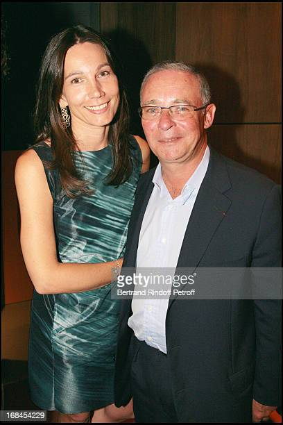 Ariane Poniatowski and Count Philippe of Nicolay at 'Art Toy' Benefit Auction At Christie's For Association 'Paris Tout P'Tits'