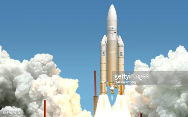 Ariane V In service since 1996 this European launcher transports heavy payloads including the most powerful communications satellites