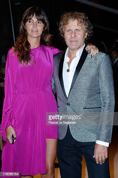 Arianna Alessi and Renzo Rosso attend the Opening Dinner Arrivals during the 70th Venice International Film Festival at the Hotel Excelsior on August...
