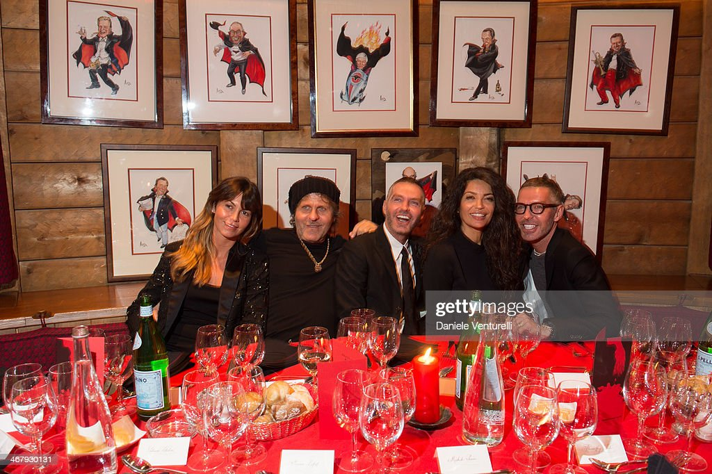 Dean and Dan Caten of Dsquared2Host a private dinner in St. Moritz