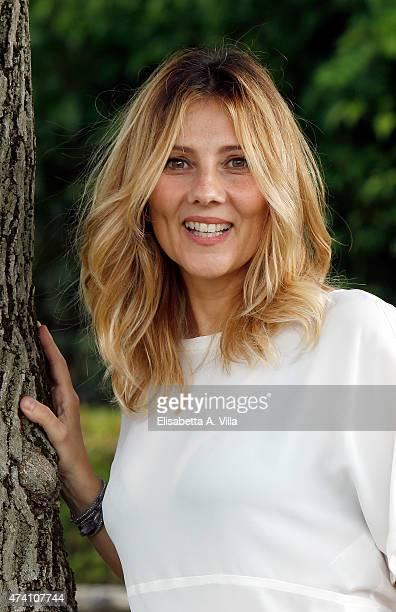 Arianna Ciampoli attends 'Mezzogiorno Italiano' Tv Show photocall at RAI on May 20 2015 in Rome Italy