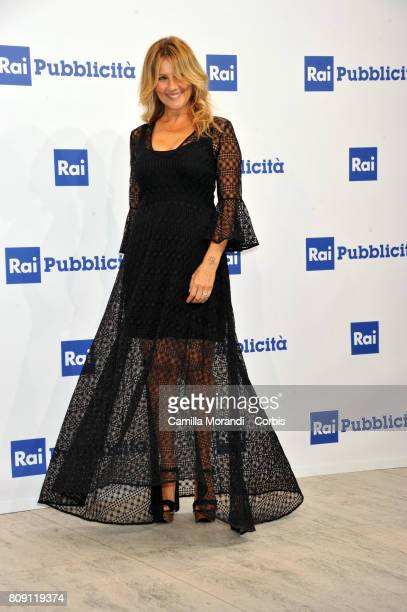 Arianna Ciampoli attends the Rai Show Schedule Presentation In Rome on July 4 2017 in Rome Italy