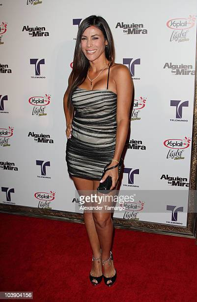 Arianna Coltellacci attends screening of Telemundo's 'Alguien Te Mira' at The Biltmore Hotel on September 7 2010 in Coral Gables Florida