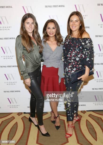 Arianna Du Manoir Visionary Women Executive Board Member Angella Nazarian and Carla Du Manoir attend Visionary Women present Grit Guts and Grace...