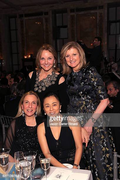 Arianna Huffington and guests attend The Berggruen Prize Gala Honoring Philosopher Charles Taylor at New York Public Library Astor Hall on December 1...