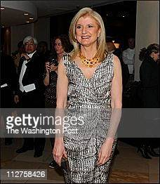 Arianna Huffington arrives for the Gridiron Dinner at the Renaissance Hotel in Washington DC on March 12 2011