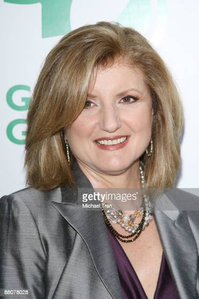 Arianna Huffington arrives to the Global Green USA's 13th Annual Millennium Awards held at the Fairmont Miramar Hotel on May 30 2009 in Santa Monica...