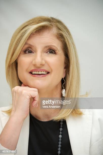 Arianna Huffington at the Four Seasons Hotel on July 23 2014 in Beverly Hills California