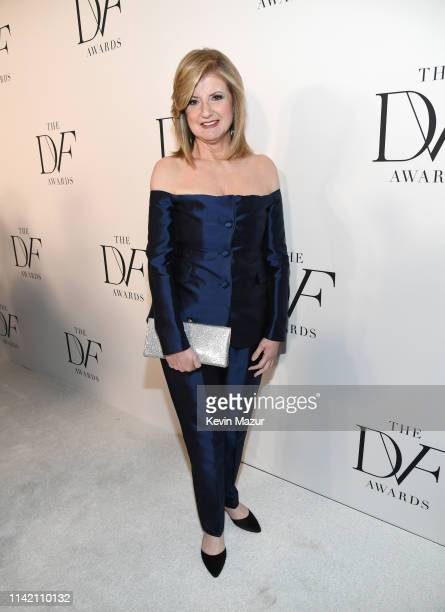 Arianna Huffington attend 10th Annual DVF Awards at Brooklyn Museum on April 11 2019 in New York City