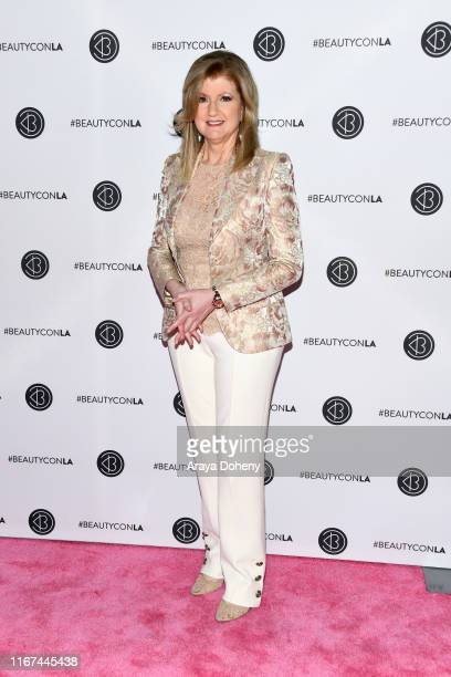 Arianna Huffington attends Beautycon Festival Los Angeles 2019 at Los Angeles Convention Center on August 11 2019 in Los Angeles California