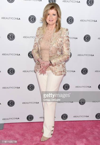 Arianna Huffington attends Beautycon Los Angeles 2019 Day 2 Pink Carpet at Los Angeles Convention Center on August 11 2019 in Los Angeles California