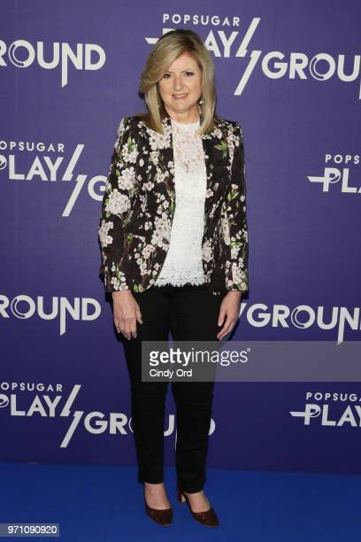 Arianna Huffington attends day 2 of POPSUGAR Play/Ground on June 10 2018 in New York City