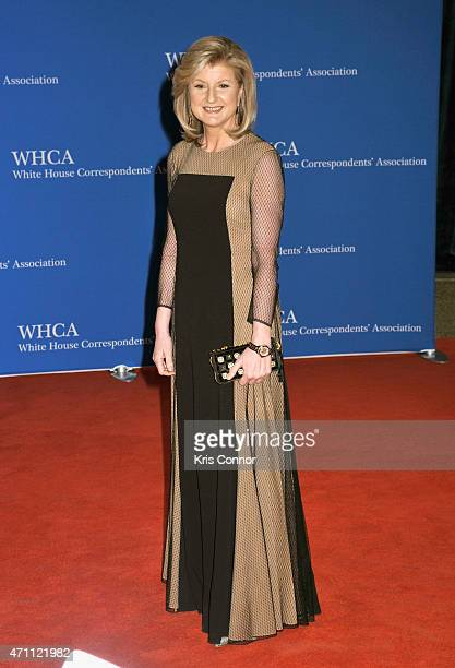 Arianna Huffington attends the 101st Annual White House Correspondents' Association Dinner at the Washington Hilton on April 25 2015 in Washington DC