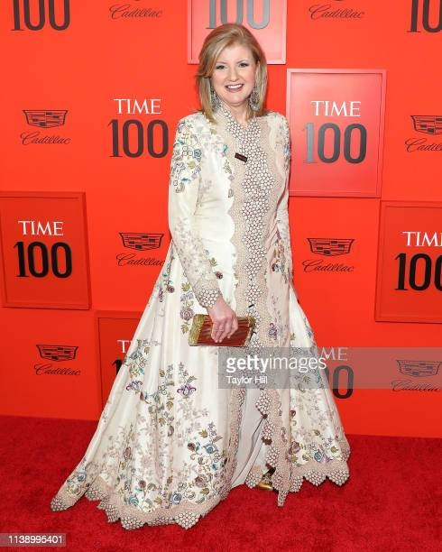 Arianna Huffington attends the 2019 Time 100 Gala at Frederick P. Rose Hall, Jazz at Lincoln Center on April 23, 2019 in New York City.