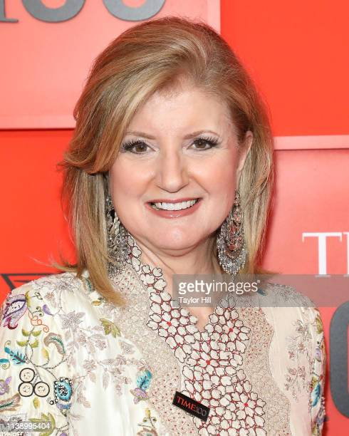 Arianna Huffington attends the 2019 Time 100 Gala at Frederick P Rose Hall Jazz at Lincoln Center on April 23 2019 in New York City