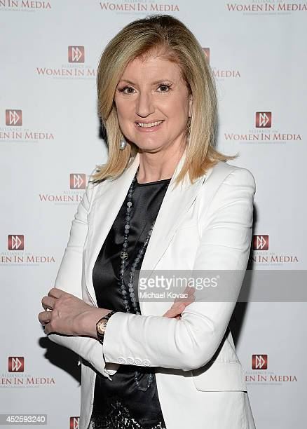 Arianna Huffington attends The Alliance for Women In Media Southern California Affiliate for An Inspiring Evening With Arianna Huffington at CBS...
