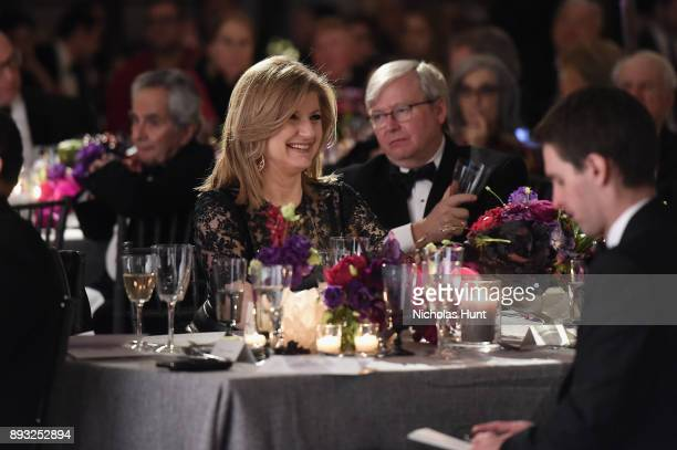 Arianna Huffington attends the Berggruen Prize Gala at the New York Public Library on December 14 2017 in New York City