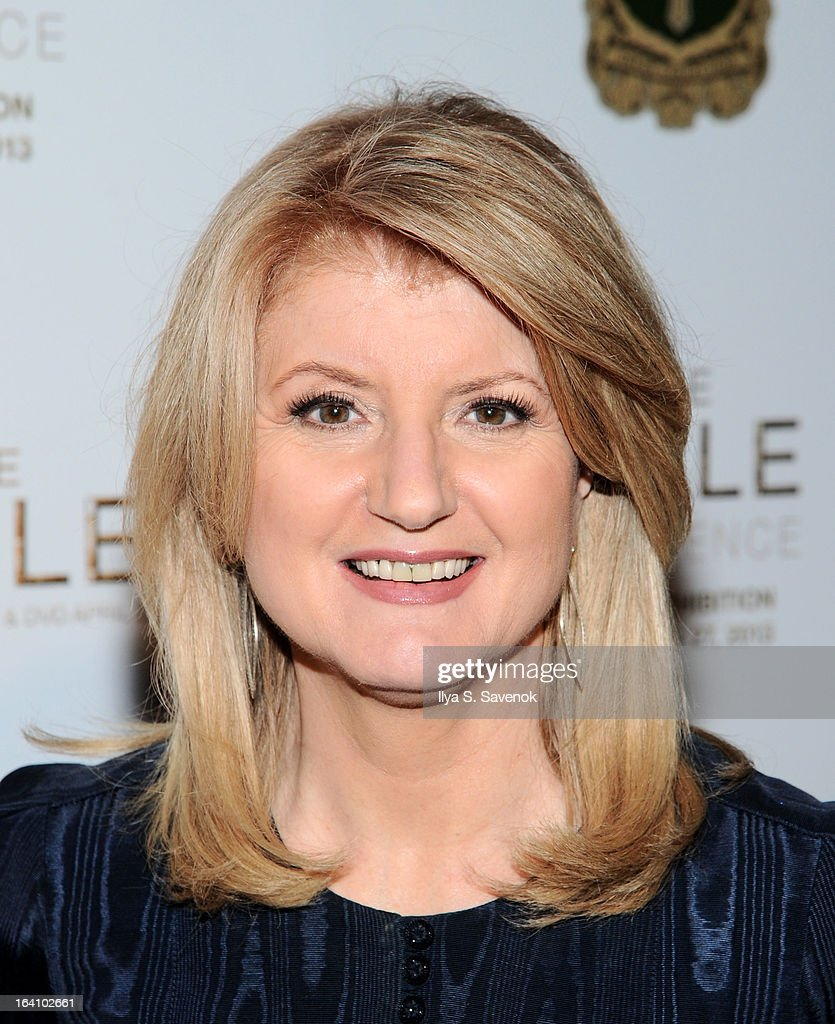 Arianna Huffington attends 'The Bible Experience' Opening Night Gala at The Bible Experience on March 19, 2013 in New York City.