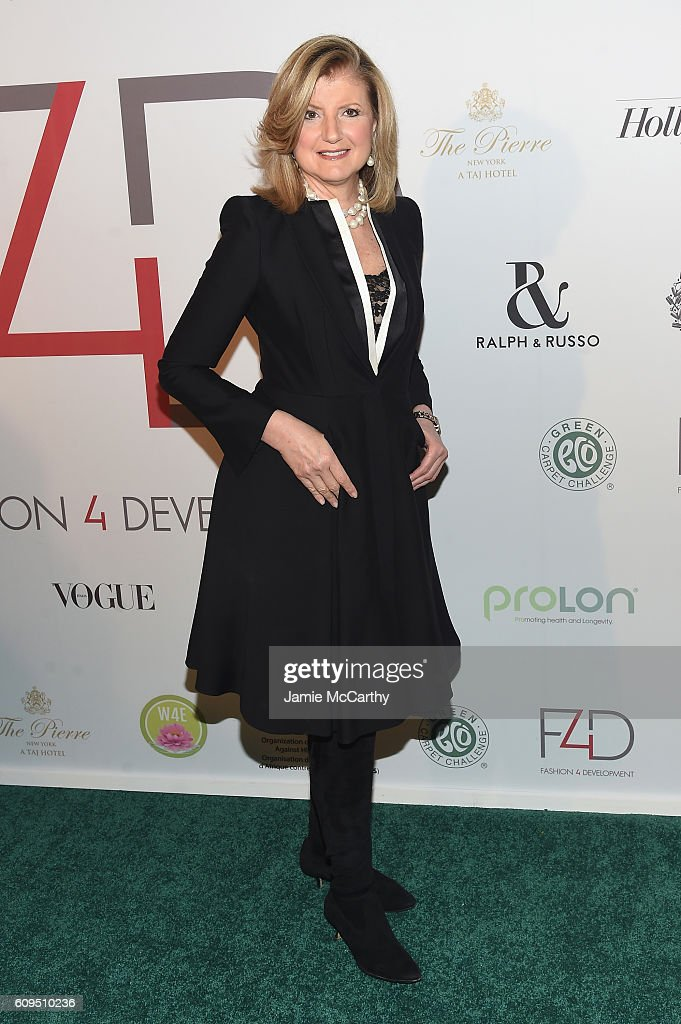 Arianna Huffington attends the Fashion 4 Development's 6th Annual Official First Ladies Luncheon on September 21, 2016 in New York City.