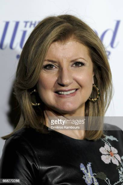 Arianna Huffington attends The Hollywood Reporter 35 Most Powerful People In Media 2017 at The Pool on April 13 2017 in New York City