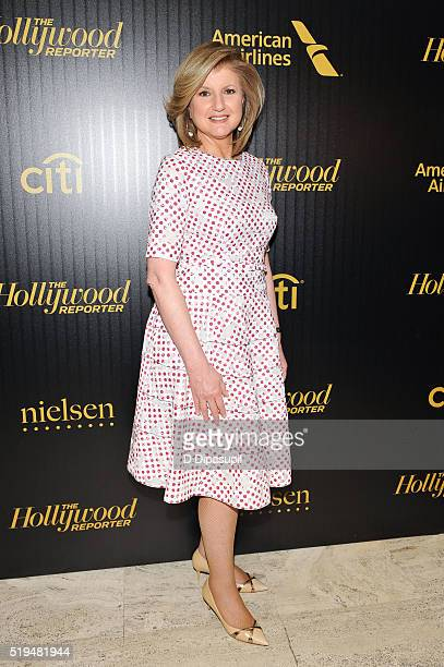 Arianna Huffington attends The Hollywood Reporter's 2016 35 Most Powerful People in Media at Four Seasons Restaurant on April 6 2016 in New York City