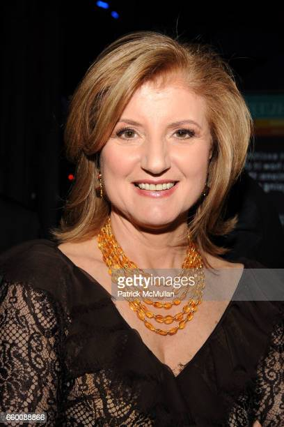 Arianna Huffington attends THE HUFFINGTON POST PreInaugural Ball at The Newseum on January 19 2009 in Washington DC