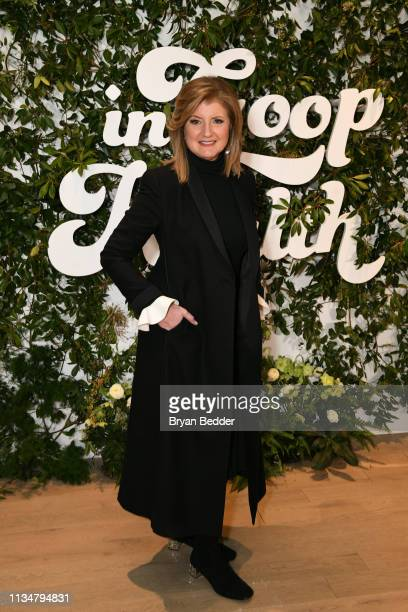Arianna Huffington attends the In goop Health Summit New York 2019 at Seaport District NYC on March 09 2019 in New York City