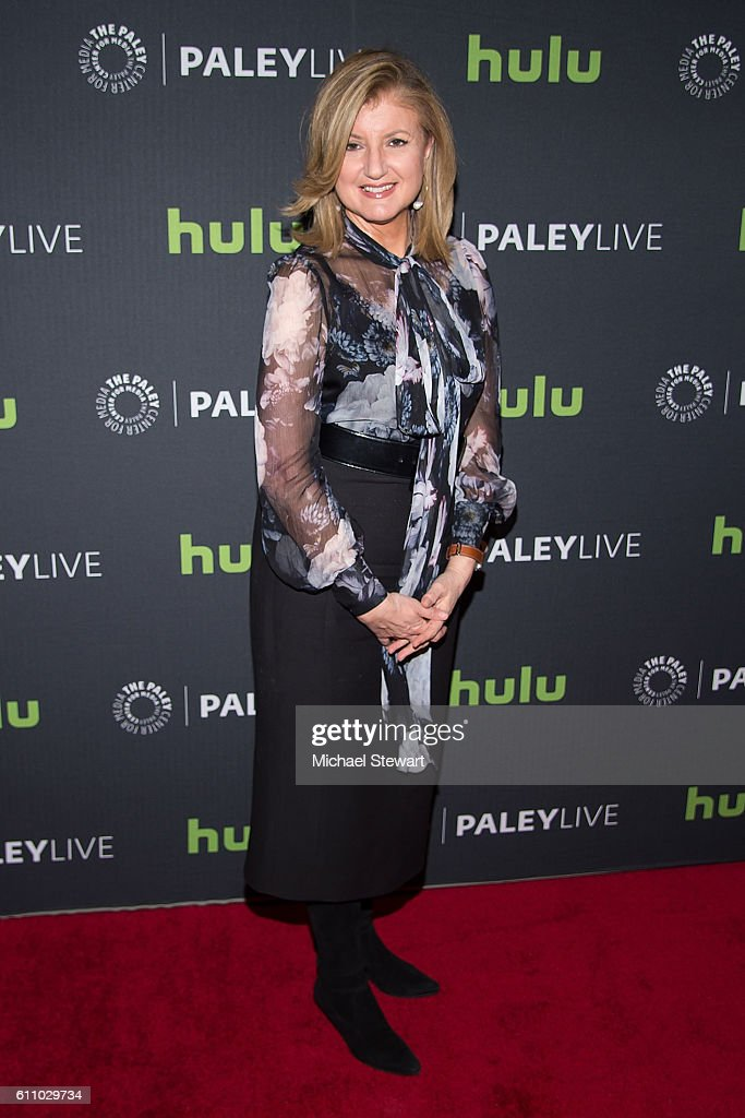 Arianna Huffington attends The Paley Center for Media Presents Shark Tank: Pursuing the American Dream in Prime Time at The Paley Center for Media on September 28, 2016 in New York City.