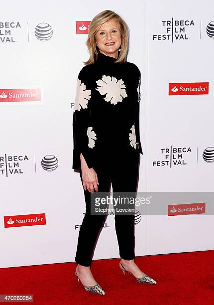 Arianna Huffington attends the premiere of Song Of Lahore during the 2015 Tribeca Film Festival at Regal Battery Park 11 on April 18 2015 in New York...