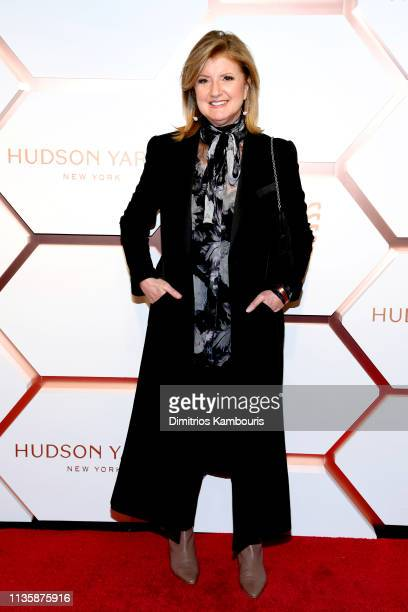 Arianna Huffington attends The Shops Restaurants at Hudson Yards Preview Celebration – Red Carpet Arrivals on March 14 2019 in New York City