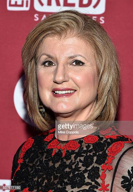 Arianna Huffington attends The Supper hosted by Mario Batali with Anthony Bourdain on June 2 2016 in New York City