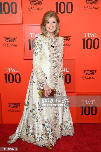Arianna Huffington attends the TIME 100 Gala Red Carpet at Jazz at Lincoln Center on April 23 2019 in New York City