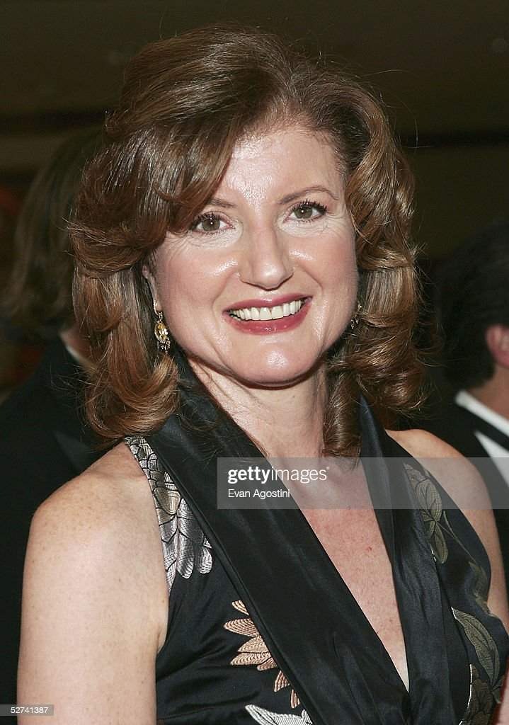 Arianna Huffington attends the White House Correspondents' Dinner at the Washington Hilton Hotel on April 30, 2005 in Washington DC.