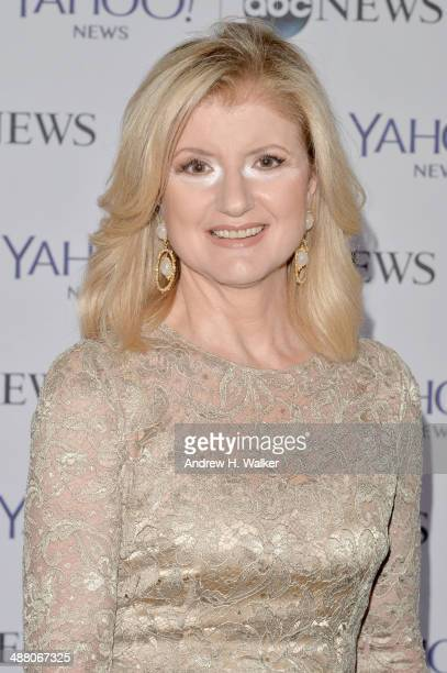 Arianna Huffington attends the Yahoo News/ABCNews PreWhite House Correspondents' dinner reception preparty at Washington Hilton on May 3 2014 in...