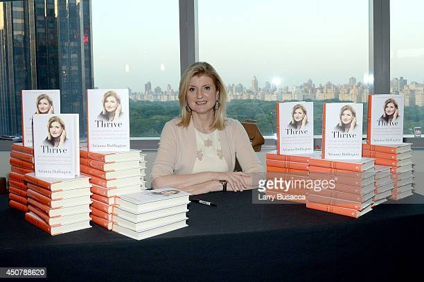 Arianna Huffington attends Time Warner's Conversations On The Circle with Arianna Huffington moderated by Time Warner's SVP Global Compensation...