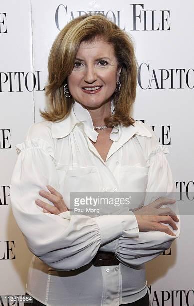 "Arianna Huffington during Capitol File Magazine and Arianna Huffington Host ""The U.S. Vs. John Lennon"" Premiere at National Press Club in Washington,..."