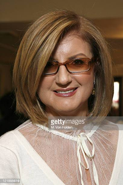Arianna Huffington during iVillage Cares Luncheon and Paperback Release of Arianna Huffington's On Becoming Fearless at MichaelÍs Restaurant in...