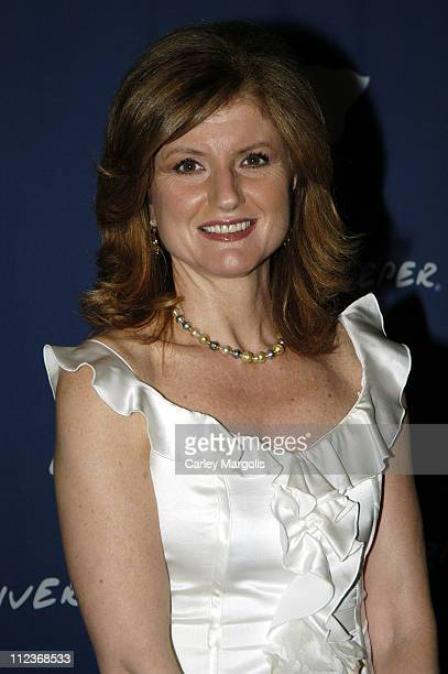 Arianna Huffington during Riverkeeper Gala Honoring Viacom's Tom Freston at Pier 60 at Chelsea Piers in New York City, New York, United States.