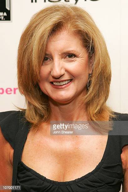 Arianna Huffington during Tupperware and In Style Host a Party Benefiting the Drama Department Youth Ticket Fund at W Hotel in Westwood California...