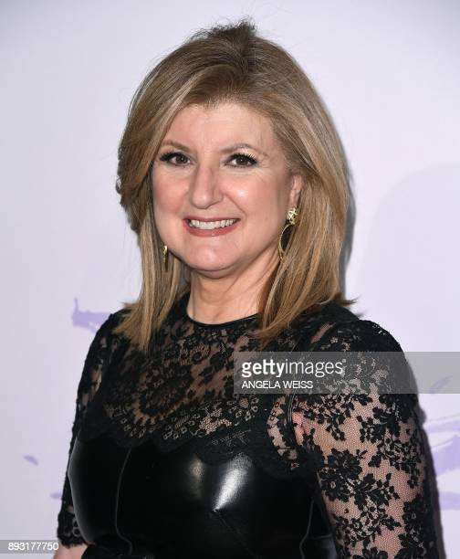 Arianna Huffington Founder of the Huffington Post attends the 2017 Berggruen Prize Gala at the New York Public Library on December 14 2017 in New...