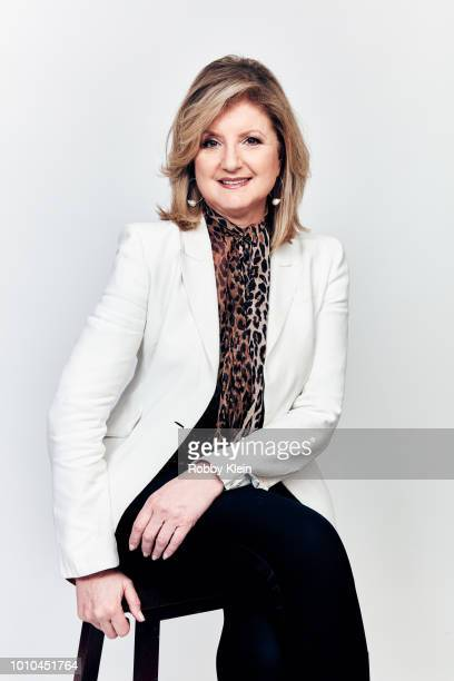 Arianna Huffinton of National Geographic's 'Valley of the Boom' poses for a portrait during the 2018 Summer Television Critics Association Press Tour...