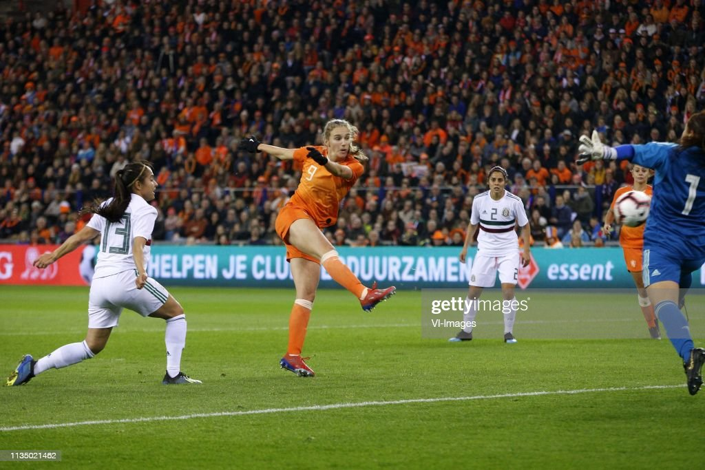 "International friendly match""Women: The Netherlands v Mexico"" : News Photo"