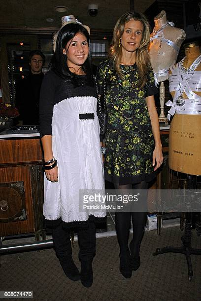 Arianne Gold and attend A Private Dinner to Celebrate LES PERLES DE CHANEL Hosted by Marjorie Gubelmann Raein and Samantha Boardman Rosen at The Box...